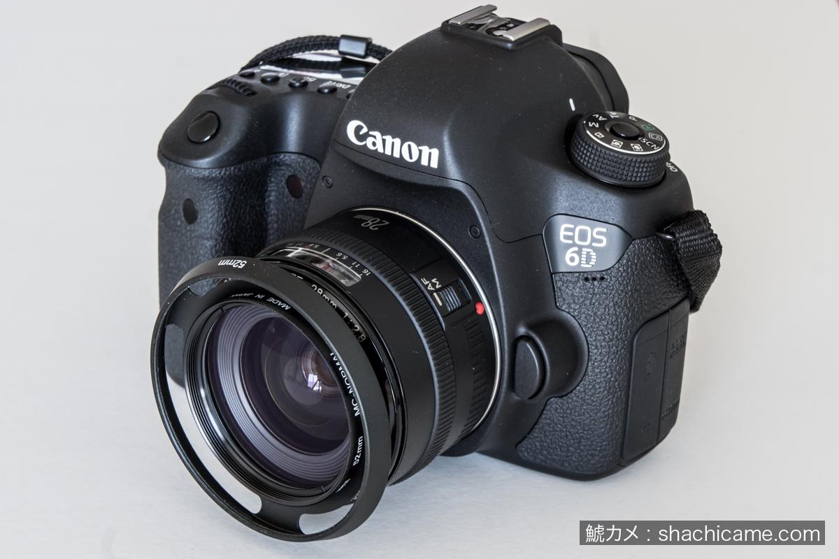EOS 6D EF28mm F2.8 フード