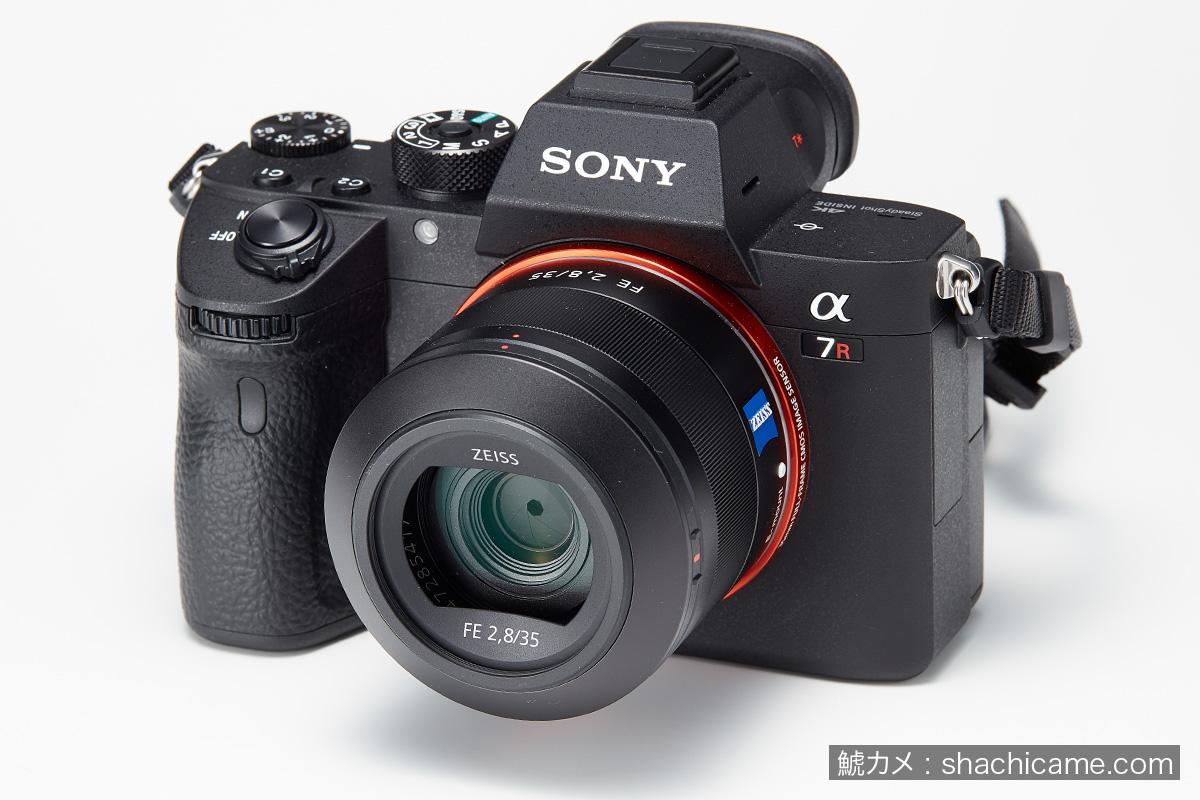Sony α7R III + SEL35F28Z Sonnar T* FE 35mm F2.8 ZA フード