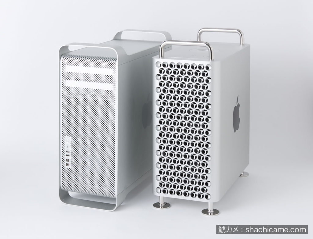 Mac Pro 2019 Mac Pro 2012 比較