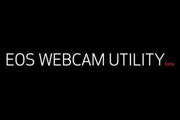 Canon EOS WEBCAM UTILITY beta