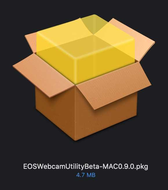 Canon EOS WEBCAM UTILITY beta 06