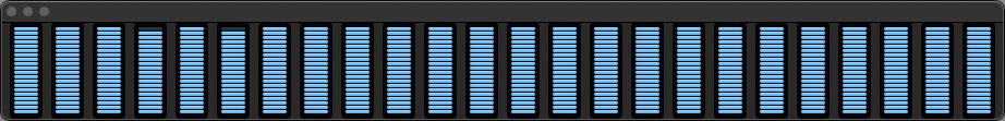 MacPro 2019 Big Sur CPU アクティビティーモニター 01