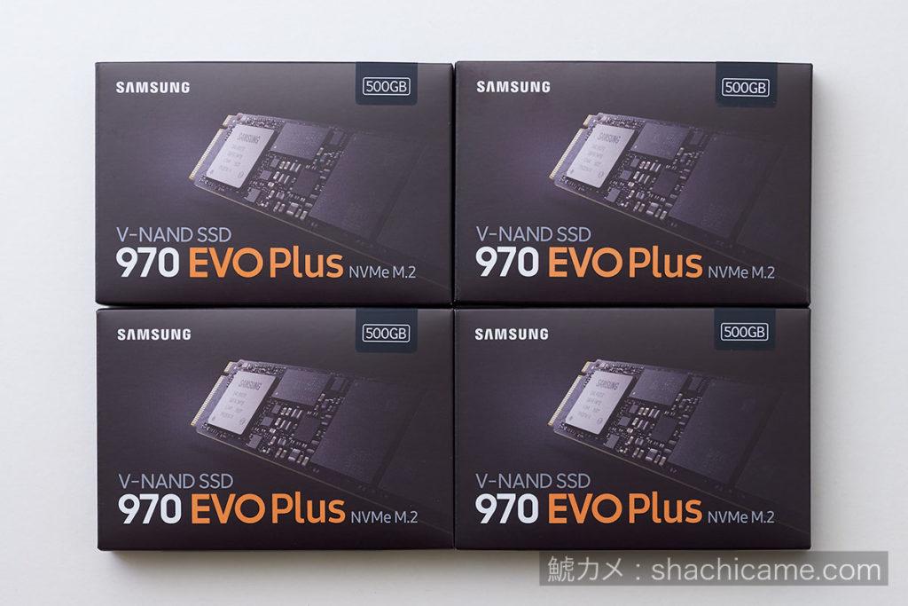 PCIe SSD RAID 02 970 SAMSUNG EVO Plus MZ-V7S500B/IT